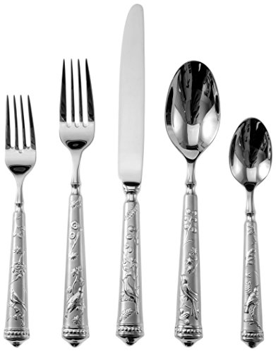 Paradise Kitchen (Ricci 5-Piece Audubon Birds of Paradise Flatware Place Setting)