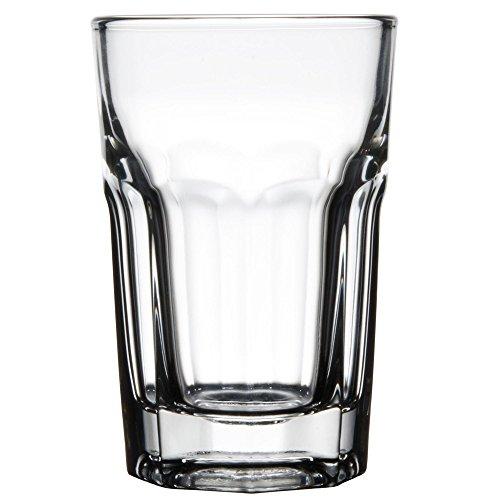 Set of 6 Libbey 15236 Gibraltar DuraTuff 9 oz Hi-Ball Glass w/ Signature Cocktail Picks Hi Ball Glass Set
