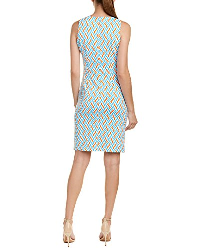L Catalina J Cloth Dress Mclaughlin Womens Catalina Womens Cloth Sheath J Blue Sheath Mclaughlin Dress RZUqCnO