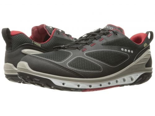 ECCO Sport(エコー スポーツ) メンズ 男性用 シューズ 靴 スニーカー 運動靴 Biom Venture GTX - Black/Black/Brick [並行輸入品] B07C8HPYS6