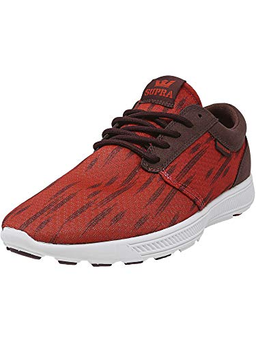 Supra Hammer Run, Unisex Adults' Low-Top Sneakers, Red (RED/Burgundy - White RBU), 9 UK (44 EU)