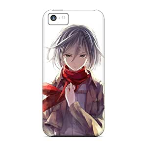 Waterdrop Snap-on Mikasa Ackerman Attack On Titan Cases For Iphone 5c