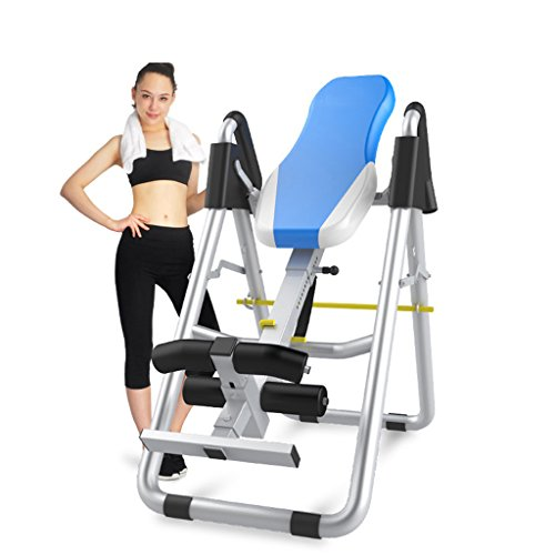 A&Dan Inversion Table, Foldable Gravity Inversion Table Back Therapy Home Fitness Equipment