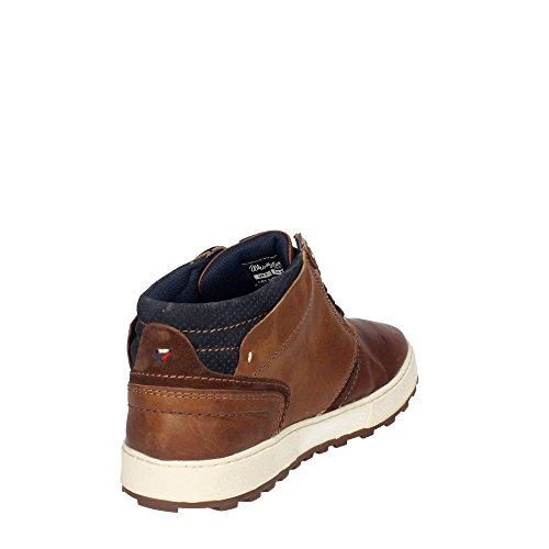 Hombre Con WM172170 Cordones Zapatos Marrã³n Wrangler CqAgBxFw00