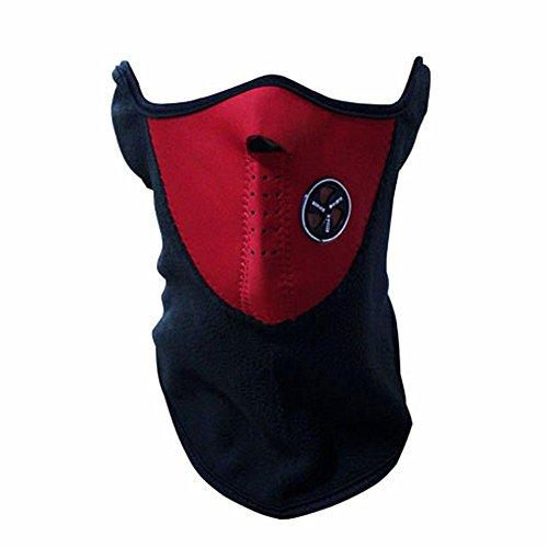 West Road MTB Helme Windjacke Fahrrad Rad Bike Facemask-Veil-Masken, Motorrad, Sport, Herbst Winter Ski-Snowboard mit einer West Biking Schlüsselanhänger rot rot