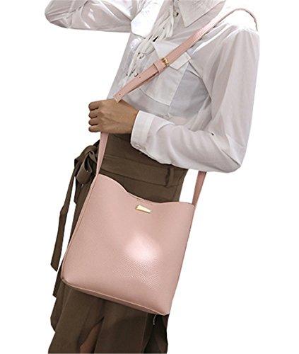 Rosa A Di Tracolla Cm 24 Borsa 25 Coco Abbigliamento Donna Agosto 5xOZRR