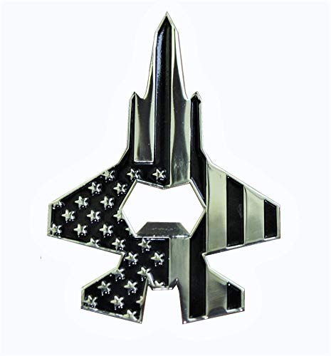 Patriotic American Flag U.S. Air Force F-35 Fighter Jet Bottle Opener - Cool Gift for Independence Day or for a Pilot