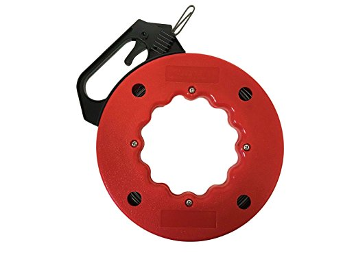 50' Fish Tape and Electrical or Communication Wire Puller by EZ Travel Collection