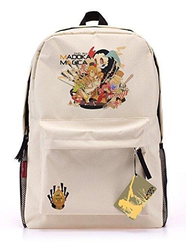 Siawasey® Anime Puella Magi Madoka Magica Cartoon Cosplay Backpack School Shoulder Bag