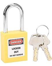 Lockout-hangslot, LOTO Lock Tagout-slot voor machineproductie voor veiligheidstechniek(geel)