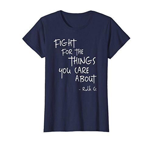 (Womens Notorious RBG Ruth Supreme Court Feminist Political T-Shirt)