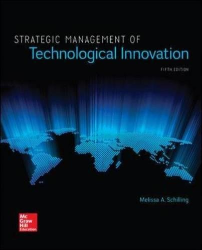 Strategic Management of Technological Innovation (Irwin Management)