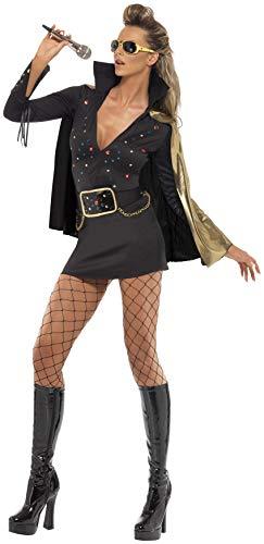 Smiffys Women's Zombie Convict Costume Black -