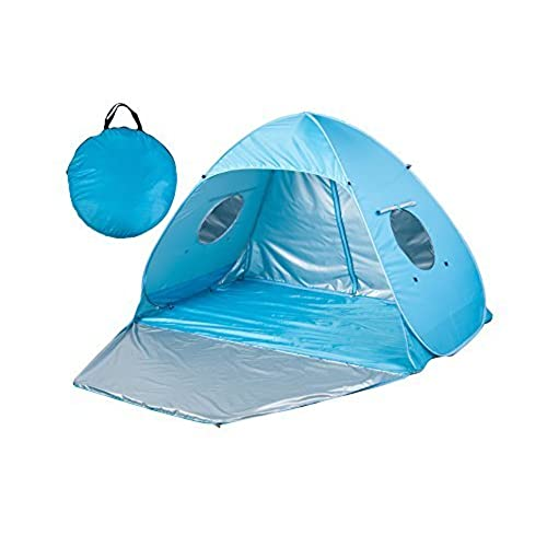 Outdoor Automatic Pop up Instant Portable Cabana Beach Tent 2-3 Person Anti UV Beach Tent Beach Shelter Sets up in Seconds 78.7  x 47.3 x 51   sc 1 st  Amazon.com & Self Erecting Tent: Amazon.com
