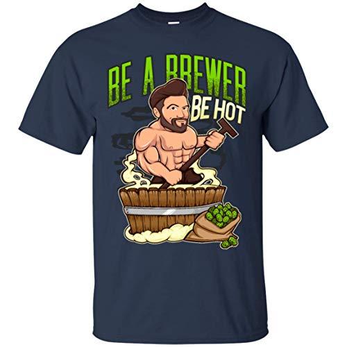Hot Craft Beer Brewer Mashing - Home Brewing Shirt, Craft Shirts ()