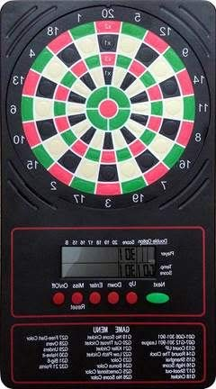Aromzen LCD Electronic Touch Pad Dart Scorer Scores up to 18 Game Types for 8 Players