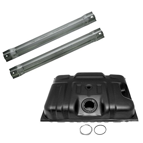 87 Ford Truck Kit - Fuel Gas Tank with Straps Set Kit 19 Gallon for 87-89 Ford Truck F150 F250 F350