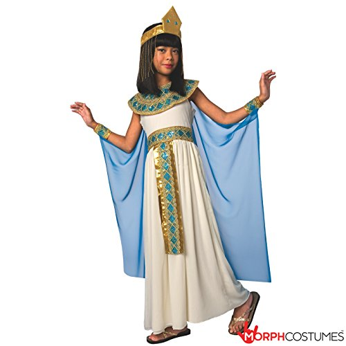 Costumes Egyptian - Girls Egyptian Queen of the Nile Cleopatra Costume - 5 Piece Quality Costume