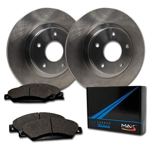 - Max Brakes Rear OE Series Rotors w/Metallic Pads Premium Brake Kit TA092842 | Fits: 2001 01 2002 02 2003 03 Toyota Highlander AWD Models