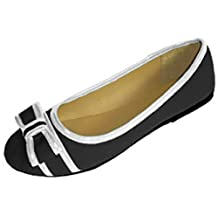 Womens Canvas Loafer Smoking Ballet Shoes Flats 3 Colors
