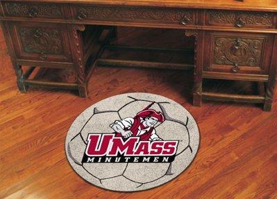 """Fan Mats UMass Soccer Ball Rug, 29"""" Dia."""