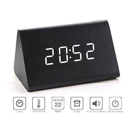 Alarm Clock Bedroom Triangle Temperature