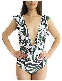 Praia City Traje de baño Mujer/Traje de baño Completo/Trajes de baño para Mujer/Traje de baño con Copas/Diferentes Tallas