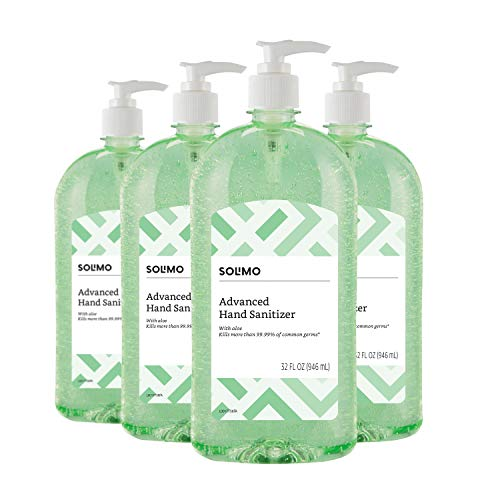 Buy Amazon Brand Solimo Hand Sanitizer With Vitamin E And Aloe