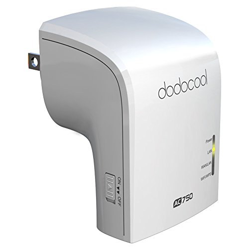 dodocool AC750 WiFi Range Extender Wireless Repeater Router Dual Band by dodocool