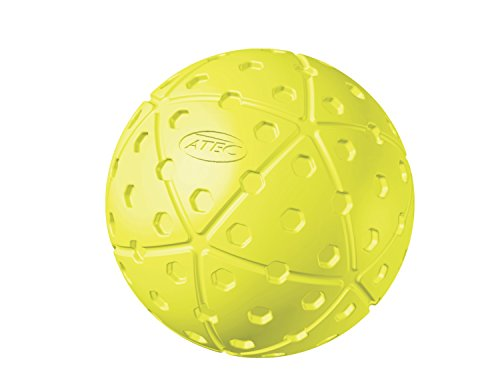 ATEC HI Per X-ACT Softball (Pack of 12), 12-Inch, Optic Yellow (Atec Softballs)
