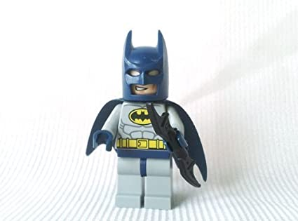 Blue /& Grey LEGO Batman Minifigure with Batarang by LEGO Batman