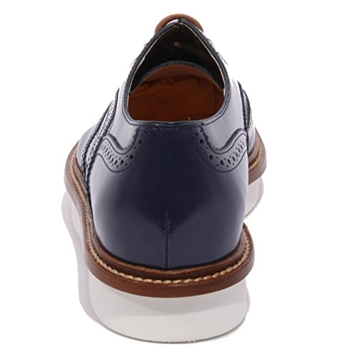 TOD'S francesina Blu B1438 blu shoes donna bucature scarpa women inglese tIwwxf6qBp