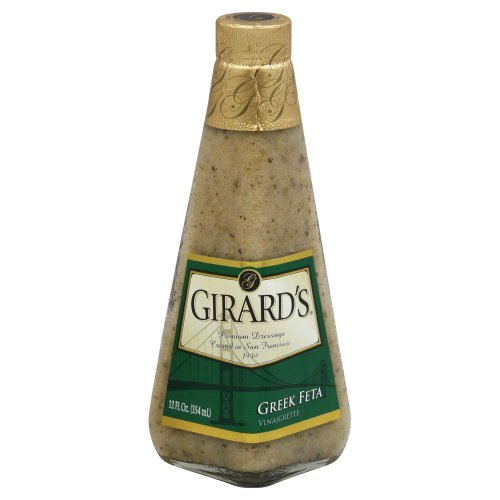 Vinaigrette Feta (Girard's Greek Feta Vinaigrette Dressing 12 oz (Pack of 4))