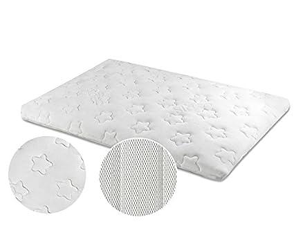 Ecus Kids 1703496031 - colchón minicuna peti 80x50 cm 0m+