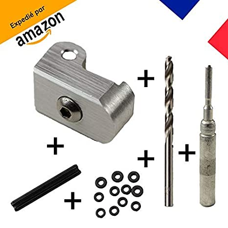 [MagicBike] Cerradura reforzada para horca de manillar aleación de aluminio Xiaomi M365 | Kit