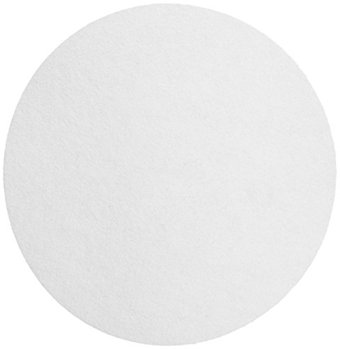 Whatman 1004-270 Quantitative Filter Paper Circles, 20-25 Micron, 3.7 s/100mL/sq inch Flow Rate, Grade 4, 270mm Diameter (Pack of 100) by Whatman