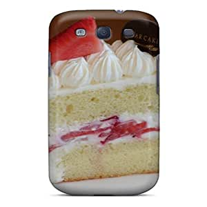 Top Quality Protection Sugar Cake Case Cover For Galaxy S3