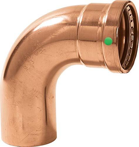 4 x 4 Viega ProPress XL Copper 90/° Street Elbow P x FTG