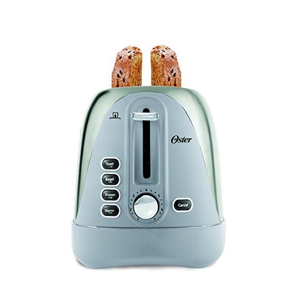 Oster Long Slot 4-Slice Toaster, Stainless Steel (TSSTTR6330-NP) 2