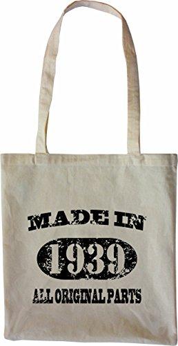 Made Merchandise 76 In Parts Original Mister 1939 Colore Tote 77 Naturale All Bag Borsa Bagaglio tAwCxfxq