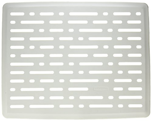 Rubbermaid FG1G16-06WWHT 12 inch x 16 inch White Sink Mat -