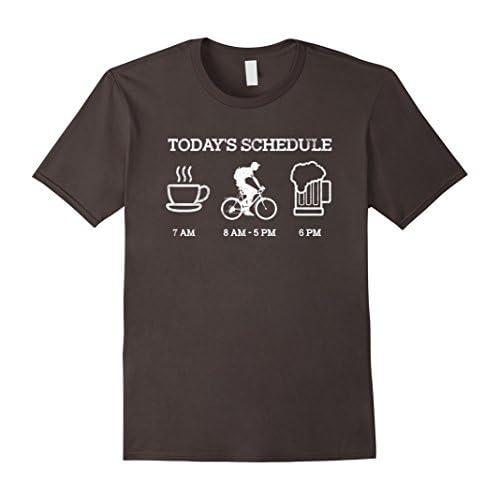 Today's Schedule - Cycling Mountain Biking Bike T Shirt
