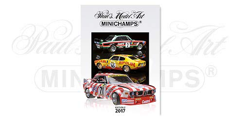 Minichamps 2017 Edition 2 Bücher Katalog Maßstab 1/1 2017 Edition 2
