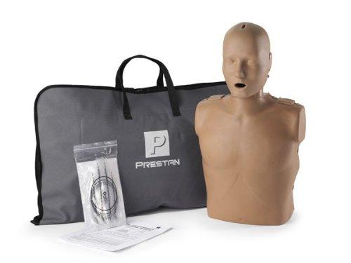 Prestan Professional Adult Dark Skin CPR-AED Training Manikin (with CPR Monitor)