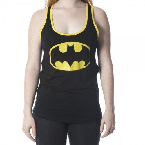 Batman+tank+top Products : DC Comics Batman Emblem Junior Womens' Racer Back Tank