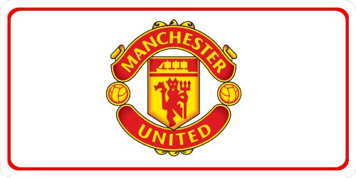 manchester united car tag - 3