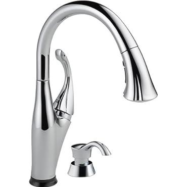Delta Addison Single Handle Kitchen Faucet, Chrome