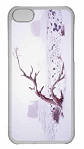 Customized iphone 5C PC Transparent Case - Winter Season 15 Personalized Cover