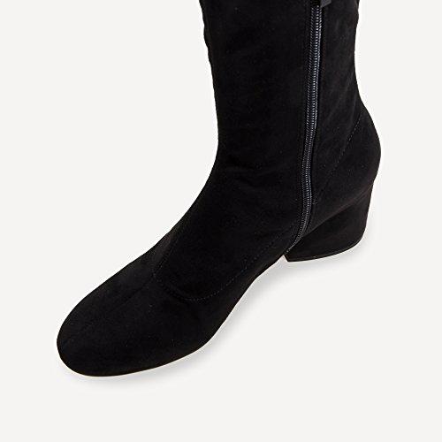 En Sophia Chaussures amp; Femme Daim Bottes Kendall Kylie Noir qXUFR