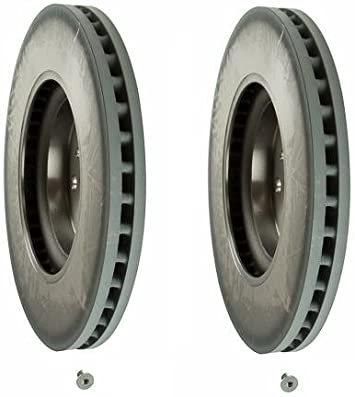 2000 2001 For Mercedes-Benz ML320 Coated Front Disc Brake Rotors and Pads